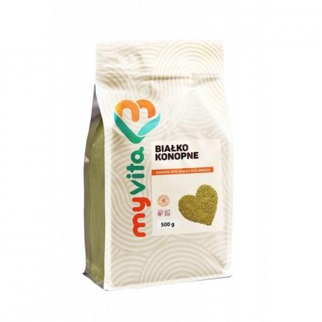 MyVita - Białko konopne 500 g - suplement diety.