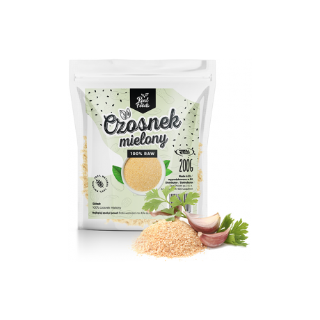 Real Foods - Czosnek mielony 200 g