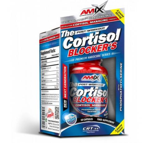 Amix - The Cortisol Blocker´s 60 caps. BLOKER KORTYZOLU - suplement diety.
