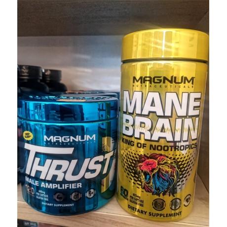 MAGNUM mega zestaw lidera - Thrust i Mane Brain - suplement diety